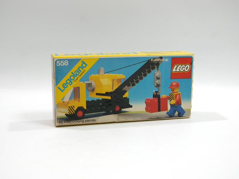 #558 レゴ クレーン車