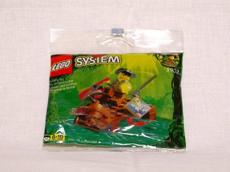 #5902 レゴ リバーラフト