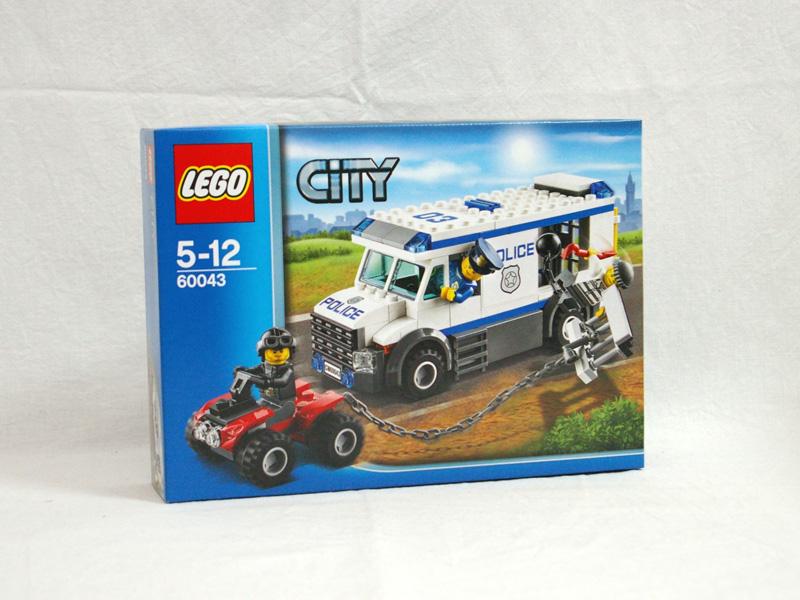 #60043 レゴ ポリスバンとドロボウのバギー