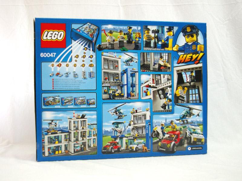 #60047 レゴ ポリスステーション 背面の写真