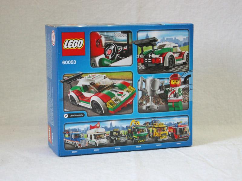 #60053 レゴ レーシングカー 背面の写真