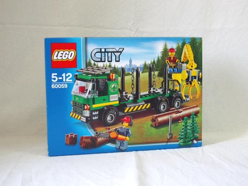 #60059 レゴ ログトラック
