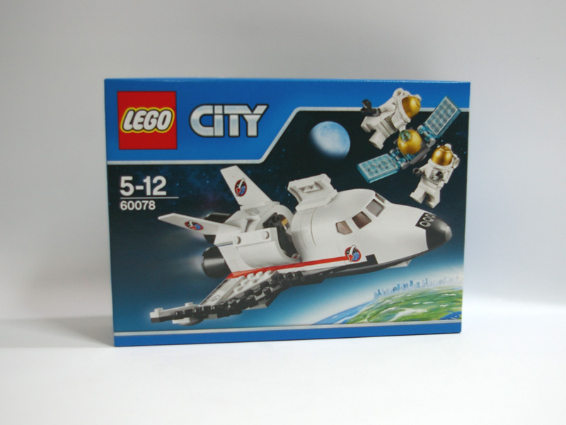 #60078 レゴ スペースシャトル 正面の画像