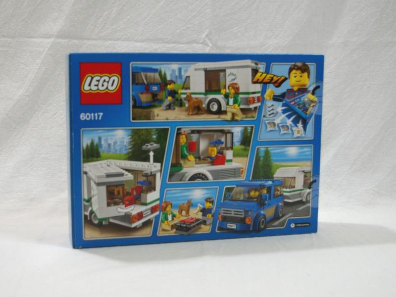 #60117 レゴ キャンピングカー 背面の写真