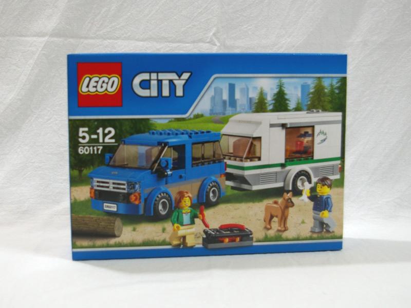 #60117 レゴ キャンピングカー 正面の画像
