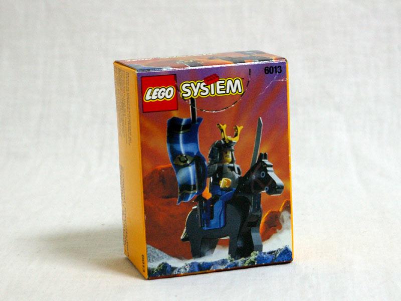 #6013 レゴ ショーグン 背面の写真