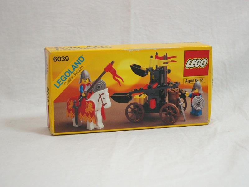 #6039 レゴ いしゆみと騎士