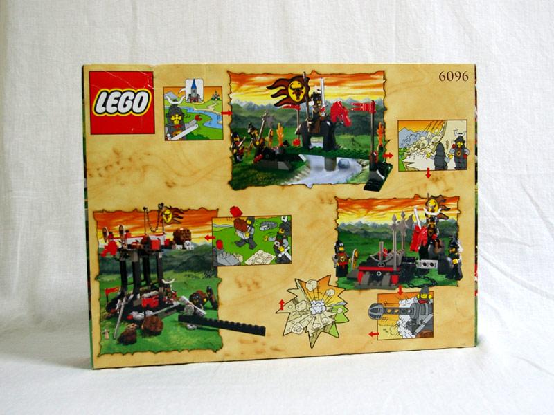 #6096 レゴ ブルズアタック 背面の写真