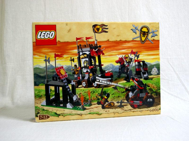 #6096 レゴ ブルズアタック 正面の画像