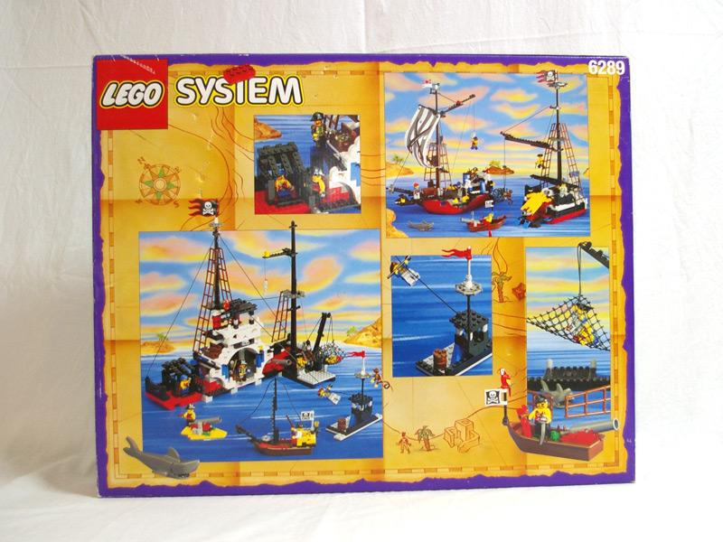 #6289 レゴ ダークコラーダ号(ロジャー船長の船) 背面の写真