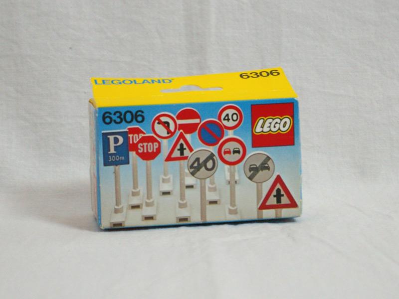 #6306 レゴ 道路標識
