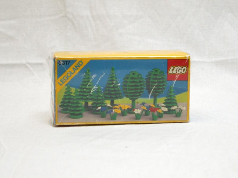 #6317 レゴ 木と花