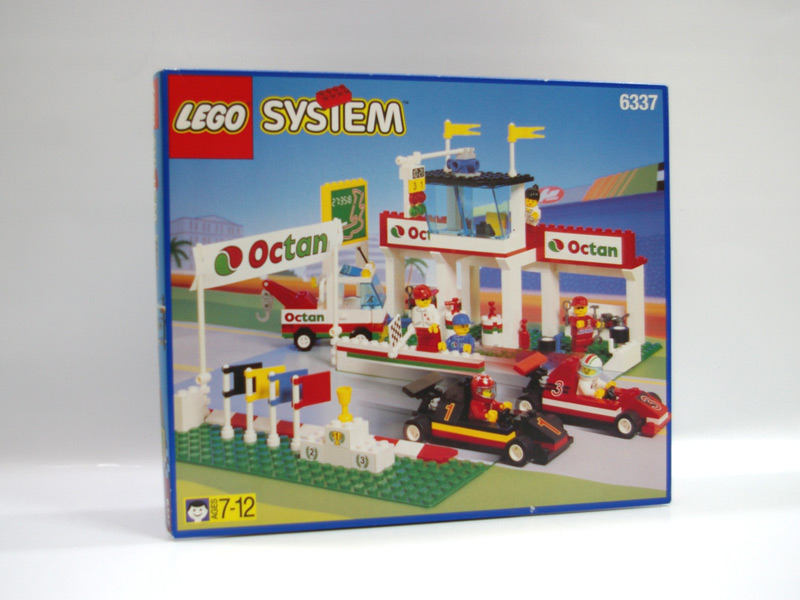 #6337 レゴ F1サーキット