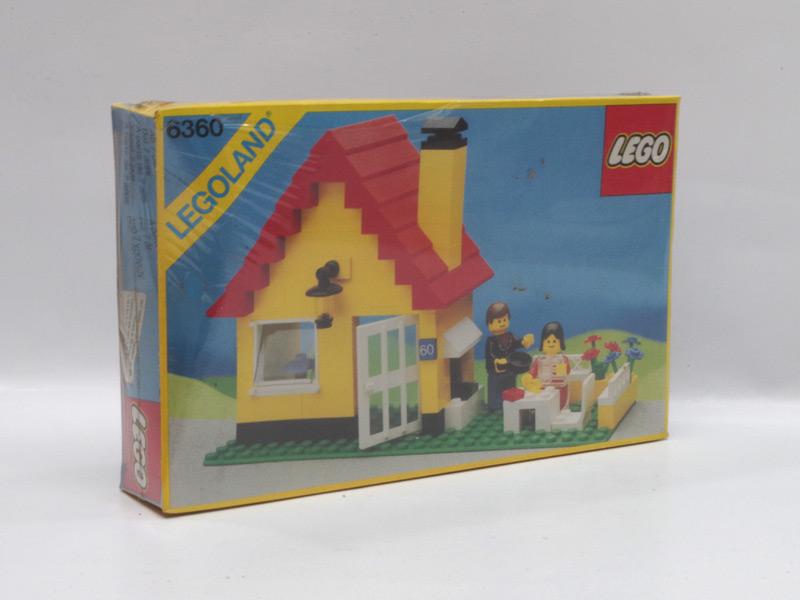 #6360 レゴ コテージ