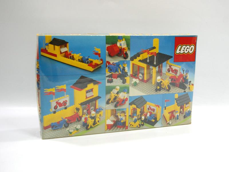 #6373 レゴ モーターバイクショップ 背面の写真