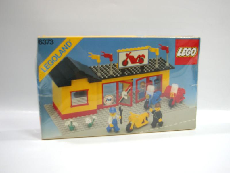#6373 レゴ モーターバイクショップ
