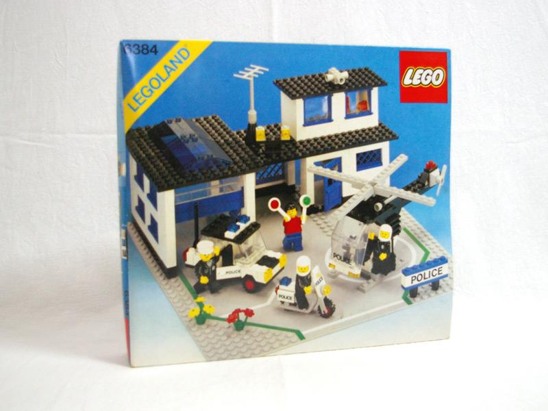 #6384 レゴ 新警察本部