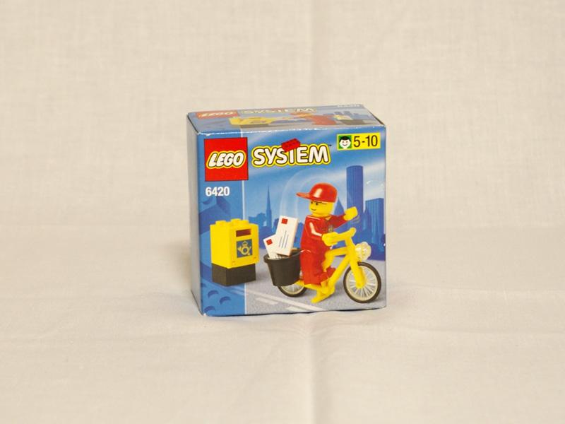 #6420 レゴ 郵便配達