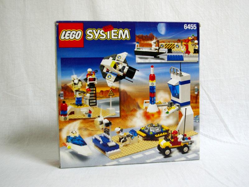 #6455 レゴ スペーストレーニングベース 背面の写真
