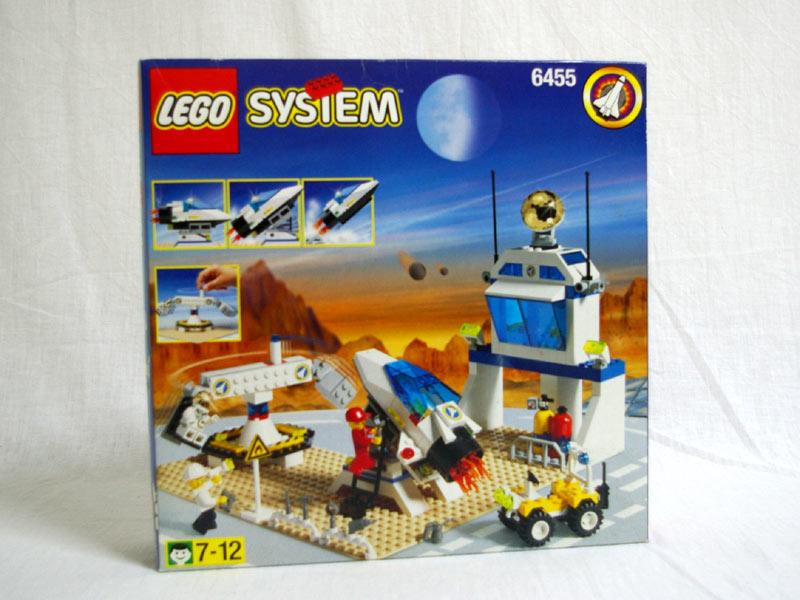 #6455 レゴ スペーストレーニングベース 正面の画像