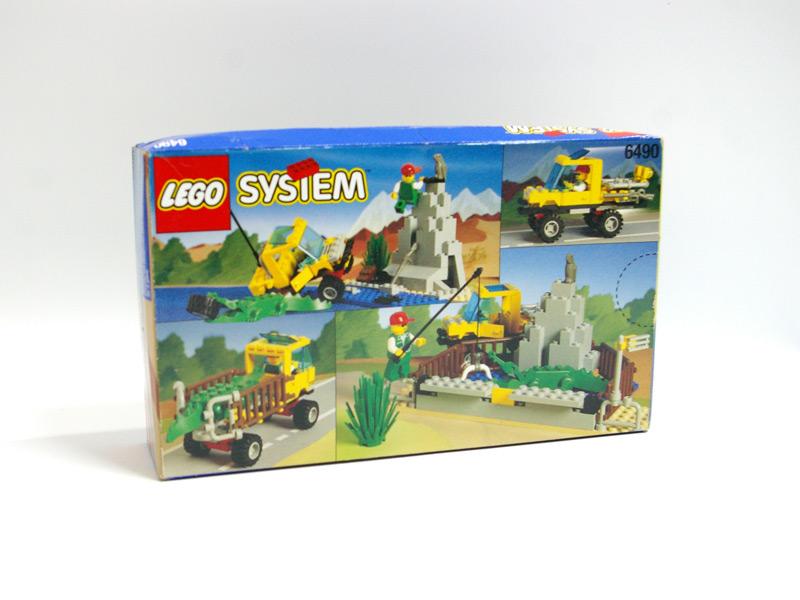 #6490 レゴ リバーアタッカー 背面の写真