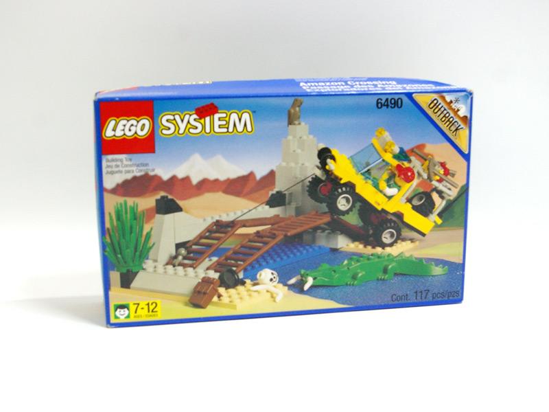 #6490 レゴ リバーアタッカー 正面の画像