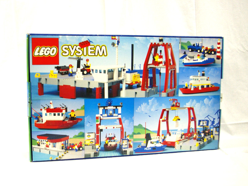 #6542 レゴ ハーバーセット(コンテナ船) 背面の写真