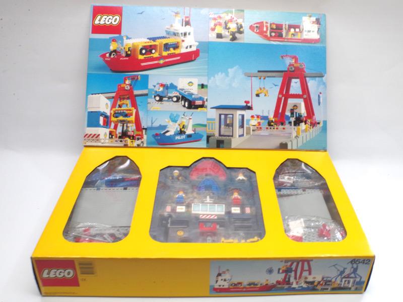 #6542 レゴ ハーバーセット(コンテナ船) 中面の写真