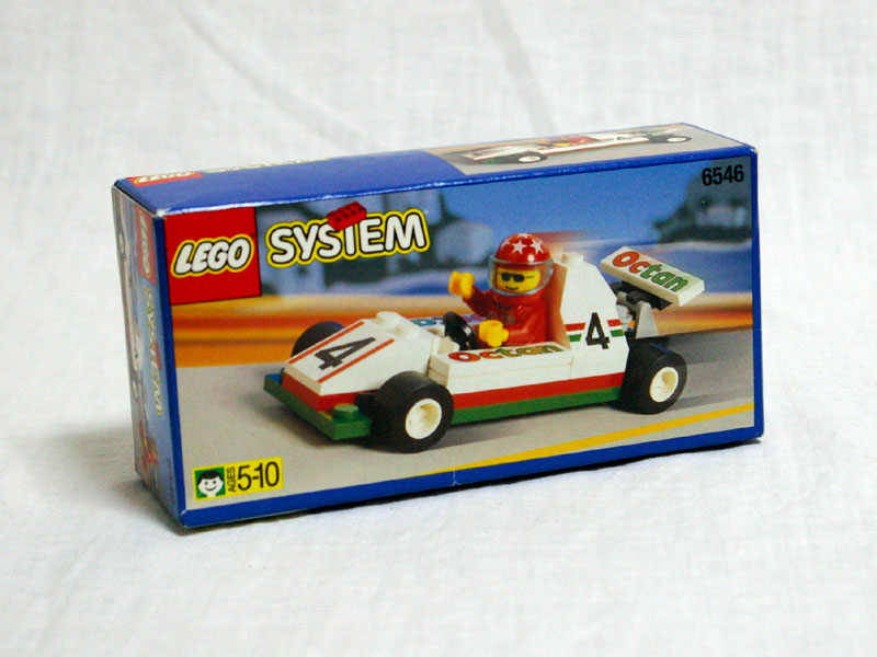 #6546 レゴ F1カーレーサー