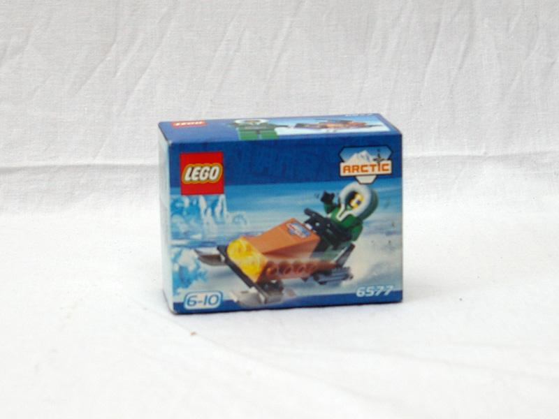 #6577 レゴ スノースクーター
