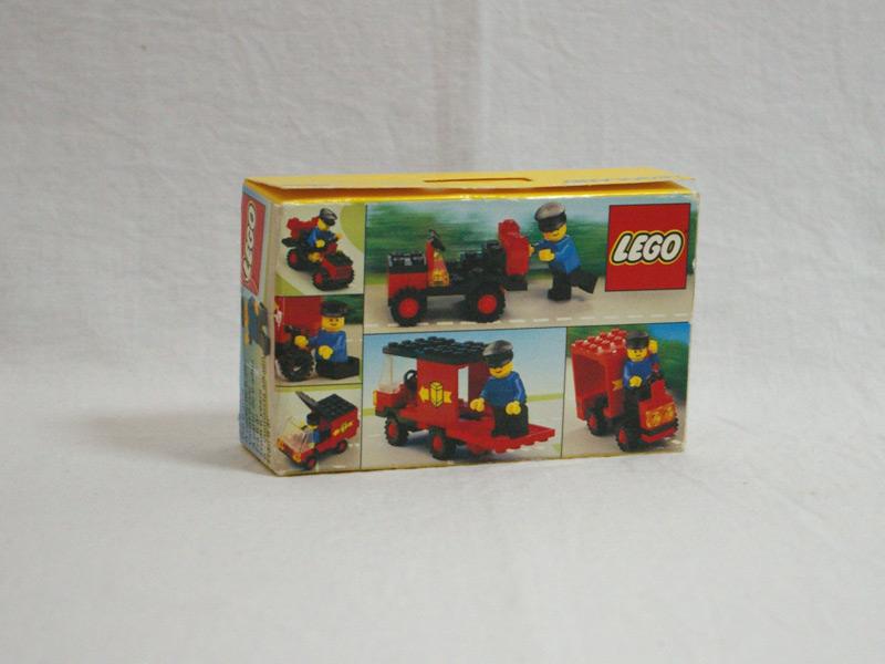#6624 レゴ 配送車 背面の写真