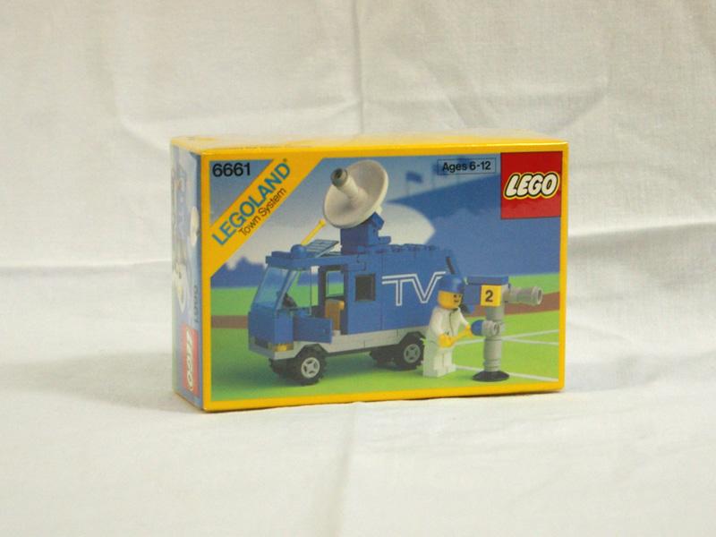 #6661 レゴ テレビ中継車