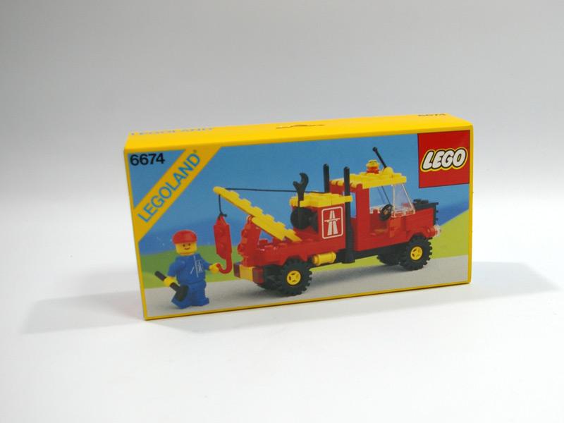 #6674 レゴ レッカー車