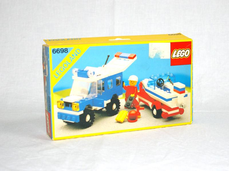 #6698 レゴ ボートキャリーカー
