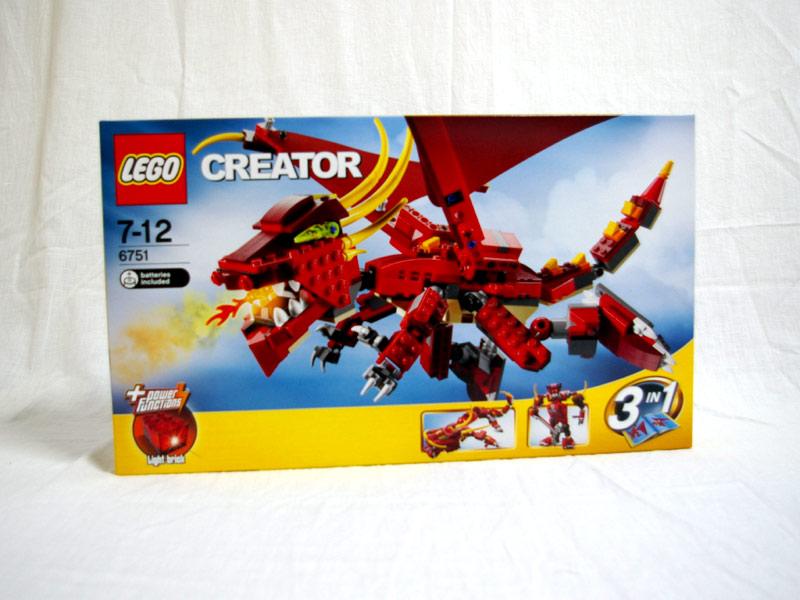 #6751 レゴ レッドドラゴン