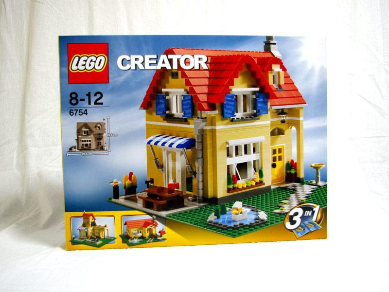 #6754 レゴ ファミリーホーム
