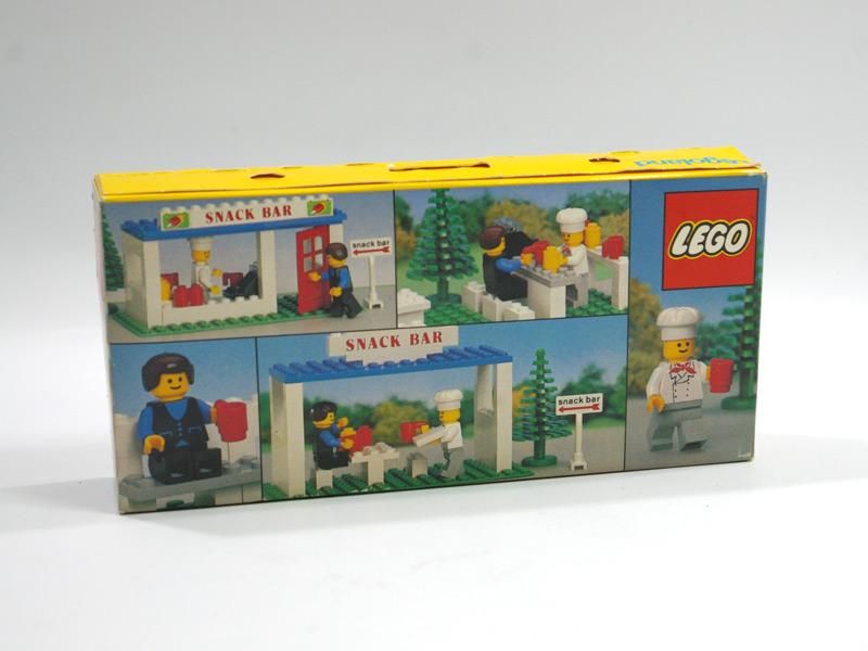 #675 レゴ スナック・バー 背面の写真