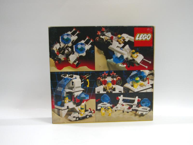 #6932 レゴ 未来都市 車とスペースシップ 背面の写真