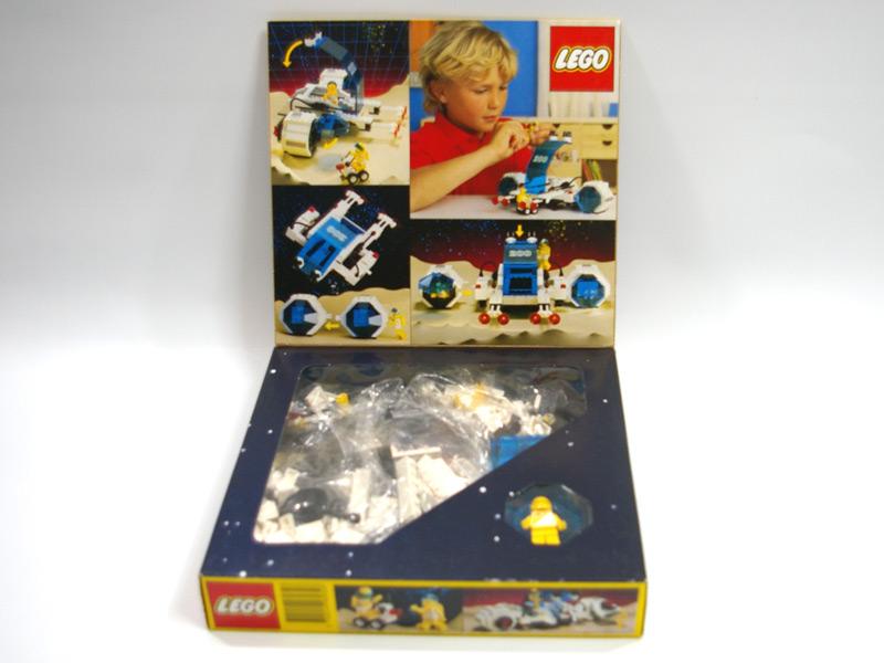 #6932 レゴ 未来都市 車とスペースシップ 中面の写真