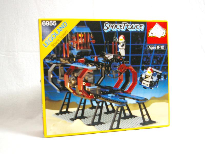 #6955 レゴ スペースポリスベース