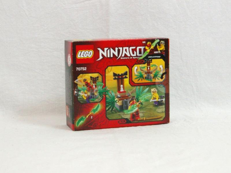 #70752 レゴ アナコン・ジャングルトラップ 背面の写真