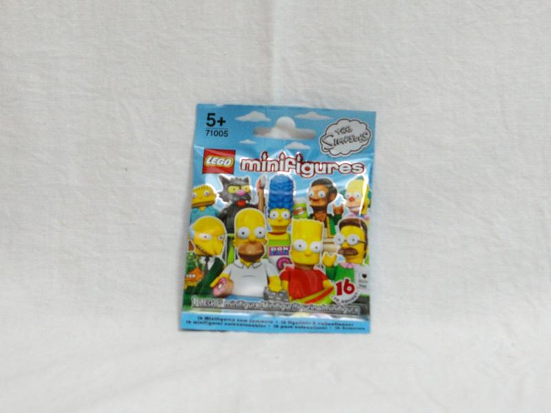 #71005 レゴ ミニフィギュアシリーズ シンプソンズ 正面の画像