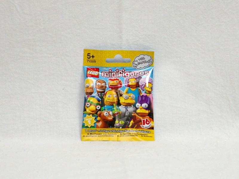 #71009 レゴ ミニフィギュアシリーズ シンプソンズ 第2弾 正面の画像