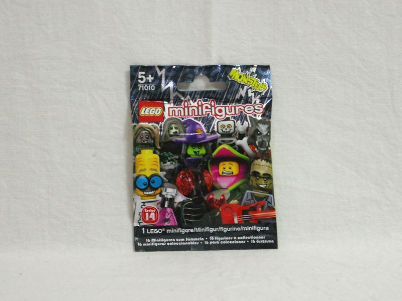#71010 レゴ ミニフィギュアシリーズ Vol.14 正面の画像