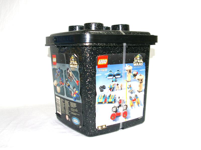 #7159 レゴ スター・ウォーズ レゴ基本セット 背面の写真