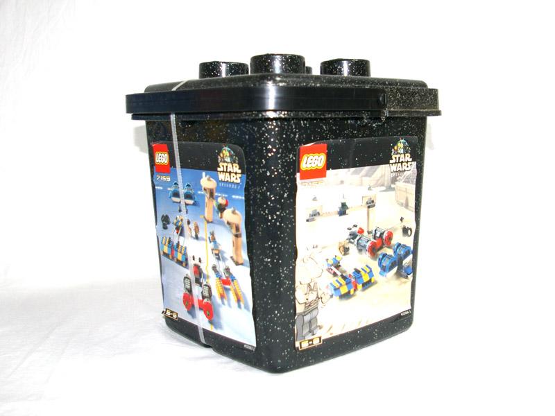 #7159 レゴ スター・ウォーズ レゴ基本セット 側面の写真
