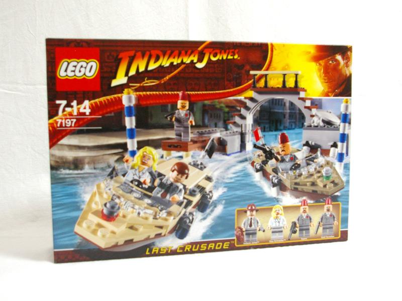 #7197 レゴ ベニス運河の追跡