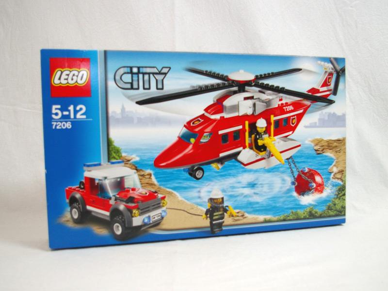 #7206 レゴ 消防ヘリコプター