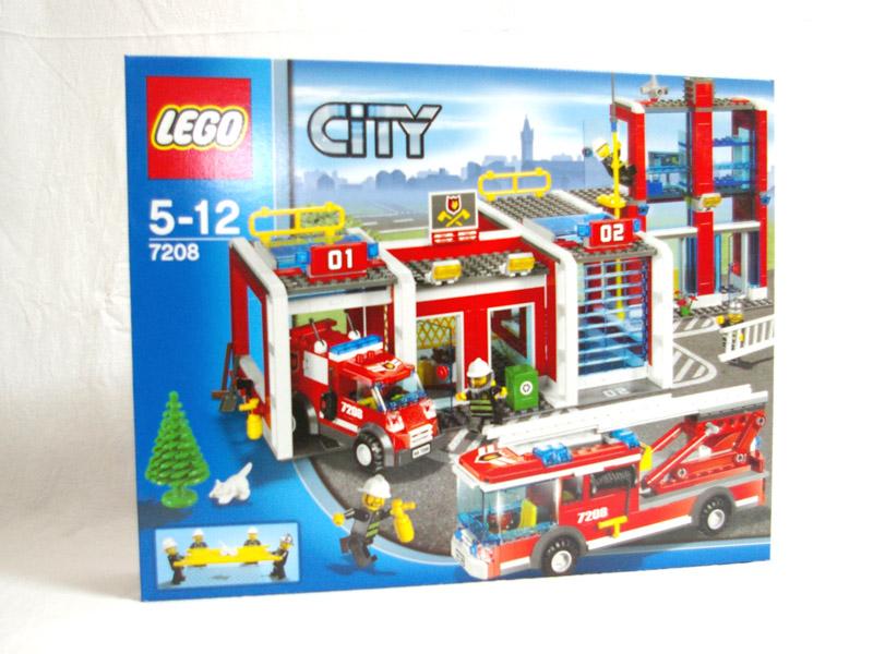 #7208 レゴ 消防署