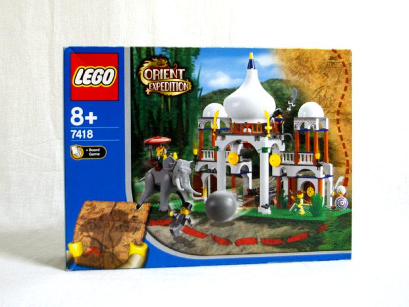 #7418 レゴ さそりの宮殿 正面の画像